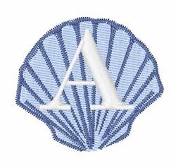 Sea Shells Font A embroidery design