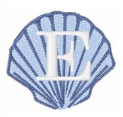 Sea Shells Font E embroidery design