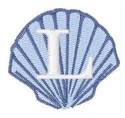Sea Shells Font L embroidery design