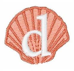 Sea Shells Font d embroidery design