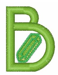 Gemstones Font B embroidery design