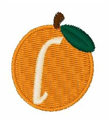 Stocking Fruit Font l embroidery design
