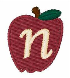 Stocking Fruit Font n embroidery design