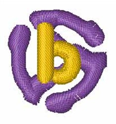 Record Font b embroidery design