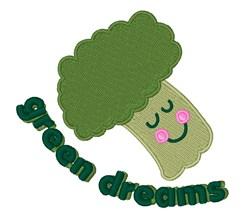 Green Dreams embroidery design