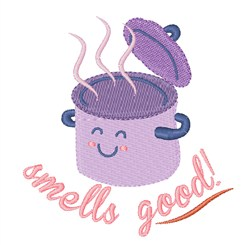 Smells Good embroidery design