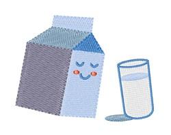Milk Carton embroidery design