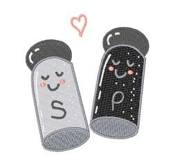 Salt & Pepper embroidery design