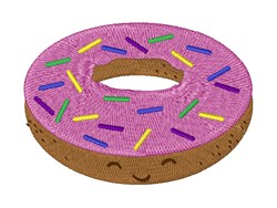 Doughnut embroidery design