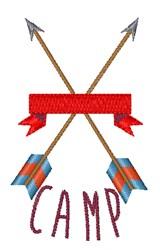 Camp Arrows embroidery design