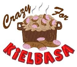 Crazy Kielbasa embroidery design