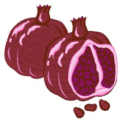 Fruit Pomegranate embroidery design