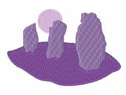 Standing Stones embroidery design