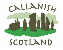 Callanish Scotland embroidery design