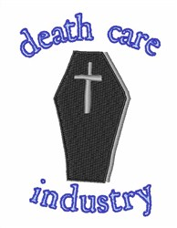 Death Care Industry embroidery design