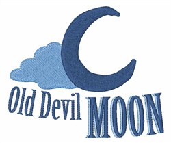 Old Devil Moon embroidery design