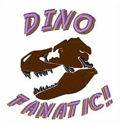 Dino Fanatic! embroidery design