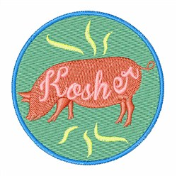 Kosher embroidery design