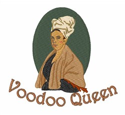 Voodoo Queen embroidery design