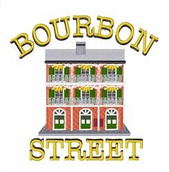 Bourbon Street embroidery design
