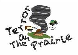 Terror On Prairie embroidery design