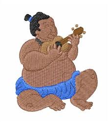 Hawaiian Man embroidery design