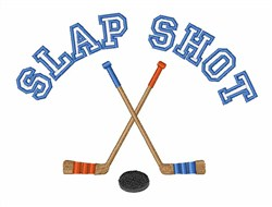 Slap Shot embroidery design