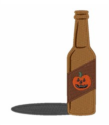 Pumpkin Beer embroidery design