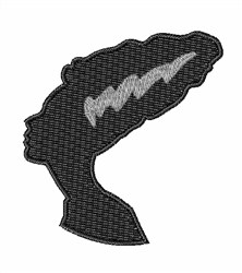 Bride Of Frankenstein embroidery design