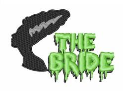 The Bride embroidery design