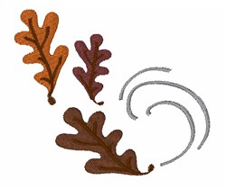 Oak Leaves embroidery design