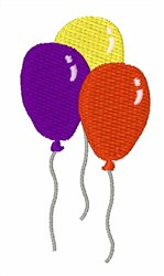 Party Balloons embroidery design