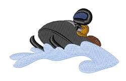 Snowmobile embroidery design