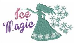 Ice Magic embroidery design