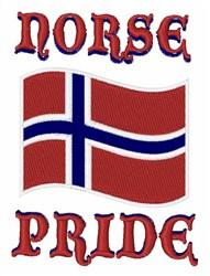 Norse Pride embroidery design