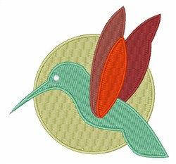 Humming Bird embroidery design