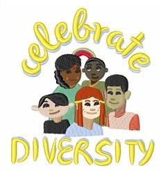 Celebrate Diversity embroidery design