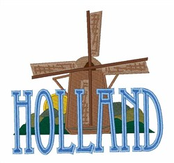 Holland embroidery design