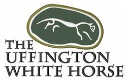 Uffington White Horse embroidery design