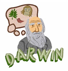 Darwin embroidery design