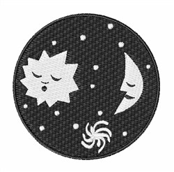 Sky Scene embroidery design