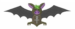 Vampire Bat embroidery design