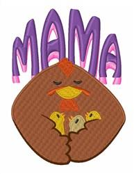 Mama Hen embroidery design