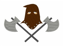 Executioner embroidery design