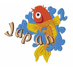 Japan embroidery design