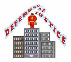 Defender Of Justice embroidery design