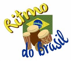 Ritmo Do Brasil embroidery design