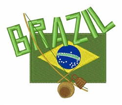 Brazil embroidery design