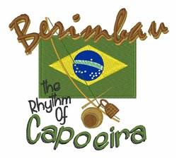 Rhythm Of Capoeira embroidery design