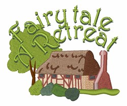 Fairytale Retreat embroidery design